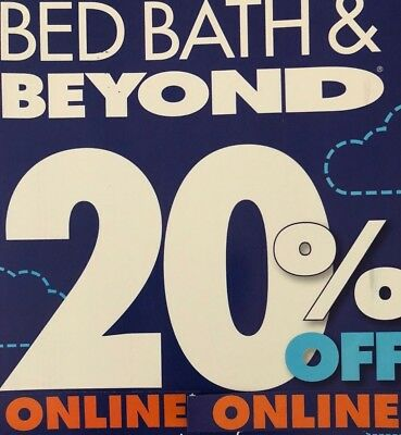 Bed Bath And Beyond Coupon 20% off Single Item  **ONLINE**  EXP 1/21/19