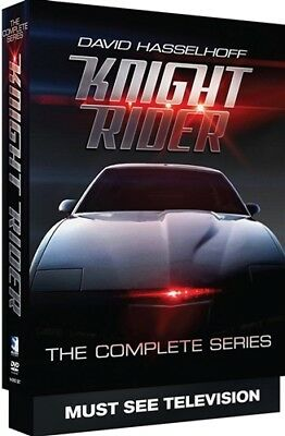 KNIGHT RIDER THE COMPLETE SERIES New Sealed 16 DVD Set Seasons 1 2 3 4