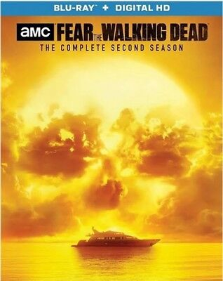 FEAR THE WALKING DEAD TV SERIES COMPLETE SECOND SEASON 2 New Sealed Blu-ray