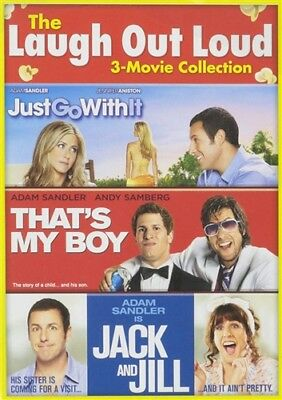 LAUGH OUT LOUD 3-MOVIE COLLECTION DVD Just Go with It That's My Boy Jack Jill