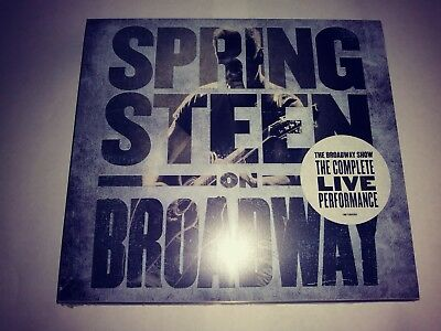 BRUCE SPRINGSTEEN ON BROADWAY BRAND NEW SEALED 2 x CD SET