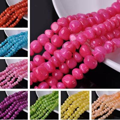 1Strand 9~13mm Natural Gemstone Free Form Rock Chips Beads DIY Jewelry Findings