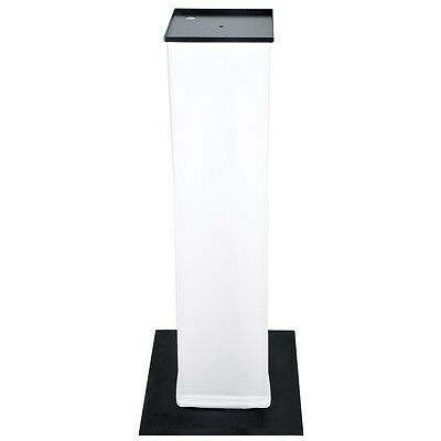 Novopro PS1+ Variable Height Moving Head Podium Stand with White Scrim [NOVO-PS1