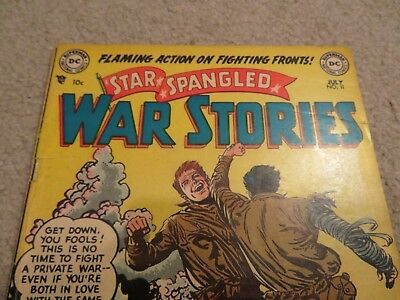 Star Spangled War Stories #11 Comic Book VG 4.0 DC 1953 See My Store