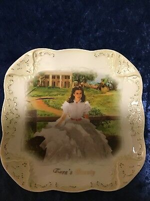 TARA'S BEAUTY Gone With The Wind ~ 2006 Bradford Exchange Plate