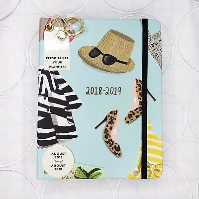 New Kate Spade Things We Love Medium Planner 2018 to 2019 Agenda Stickers