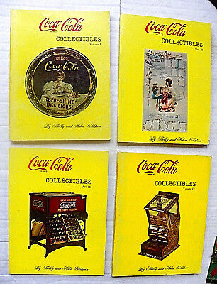"(Lot Of 4) 1971-5 ""coca-Cola Collectibles"" Shelly/helen Goldstein Vol.1-4 Guides"