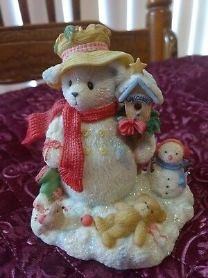Cherished Teddies Merry In The Meadow We Can Build A Snowman