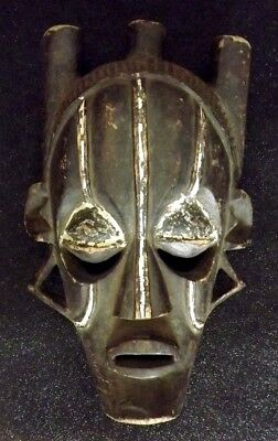 Large African Bembe Mask - From The Congo Africa - Authentic 1960s
