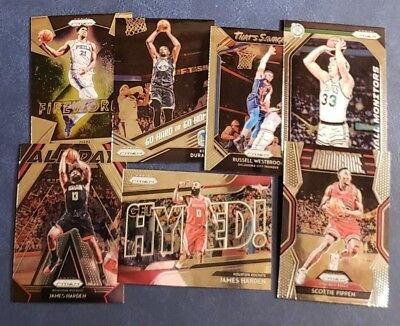 2018-19 Prizm Inserts Dominance Get Hyped Hall Monitors Fireworks You Pick