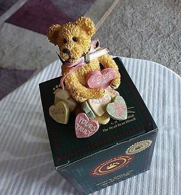 Boyds Resin Bearstone~ANDY B. TRUELOVE~#82020~NEW~Special Occasion Pc.~Valentine