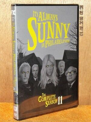 Its Always Sunny In Philadelphia The Complete Season 11 (DVD, 2016) NEW Danny