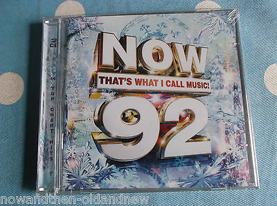 Now That's What I Call Music  ~ Thats 92 ~ 2Xcd ~ 46 Tracks ~ Brand New & Sealed
