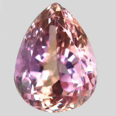 15ct.Majestic Gem! 100%Natural Bi Color Ametrine Unheated Bolivia AAA Rare Nr!.