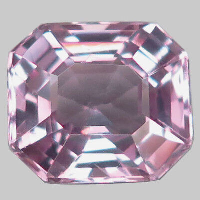 1.54ct.Shimmering Gem! 100%Natural Silver Pink Spinel Unheated Gem AAA Nr!.