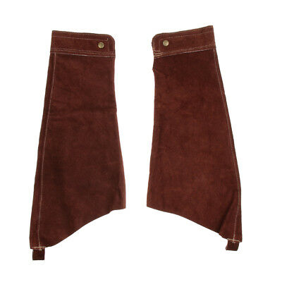 1 Pairs Welding Protective Sleeves Cuffs -Brown