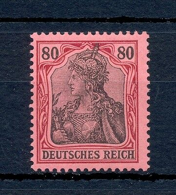 Germany Reich  1902  Mi# 77  Cv € 250  * Mh  Luxe