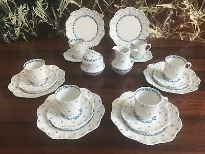 ROYAL LIMOGES France OCEAN Provence, edles 20 tlgs Kaffeeservice für 6 Pers.