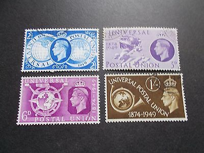 GB 1949 Commemorative Stamps~UPU~Very Fine Used~UK seller