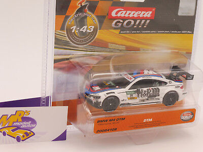 "Carrera GO!!! 64108 - BMW M4 DTM "" T.Blomqvist "" Electric Slot Car 1:43 ab 7,99€"