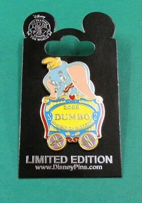 Disney Pin Dumbo Elephant Circus Train Car Animation Gallery Cel 2008 LE