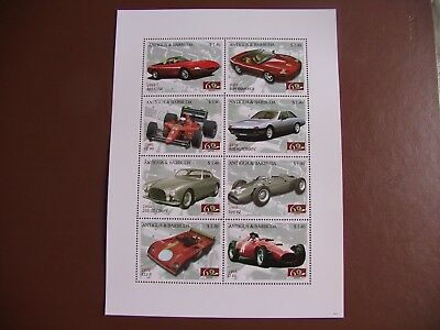 Bloc Neuf Ferrari Antigua Barbuda - Mint Sheet Ferrari Antigua Barbuda