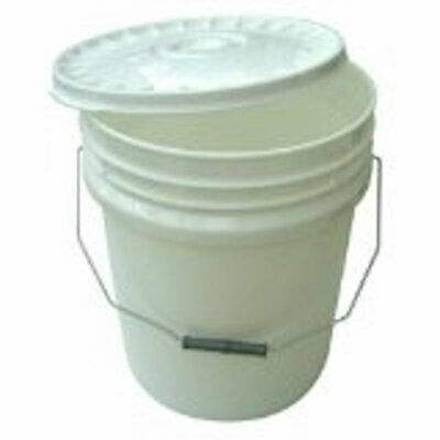 10 X 20L Heavy Duty Plastic Buckets Car Wash Fishing Tubs Containers Hydroponics