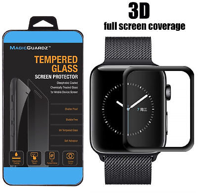 For Apple Watch Series 4 40MM / 44MM Tempered Glass Screen Protector Film Cover
