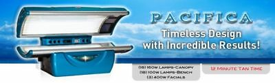 Tanning bed Level 3 12 Minute Tan America Pacifica Get 2 $7500 Free Installation