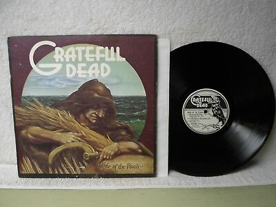 The Grateful Dead LP Wake Of The Flood 1973 Psych Rock Orig!