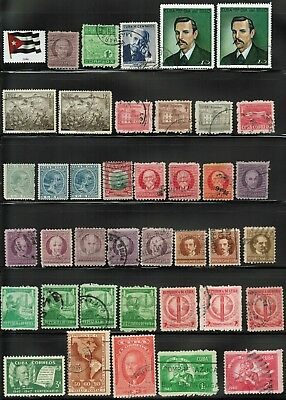 68Cuba sc#267 to RA43 Lot of 78, Various Conditions, Used, Mint-Hinge, Mint-NH