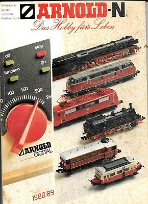 ARNOLD - N CALALOG (1988/89) 114 pages , in color , German Language