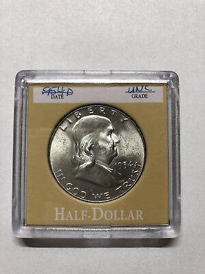 1954 D Franklin Half Dollar