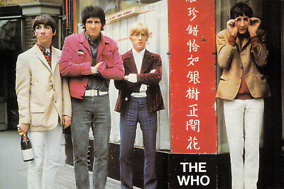 Postkarte, THE WHO