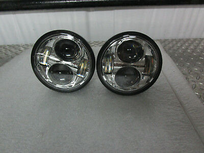 08-17 Harley Davidson FXDF Fat Bob Daymaker Projector LED Headlights