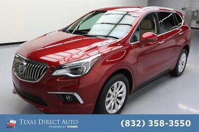 2018 Buick Envision Essence Texas Direct Auto 2018 Essence Used 2.5L I4 16V Automatic FWD SUV OnStar