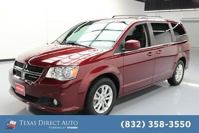 2018 Dodge Grand Caravan SXT Texas Direct Auto 2018 SXT Used 3.6L V6 24V Automatic FWD Minivan/Van