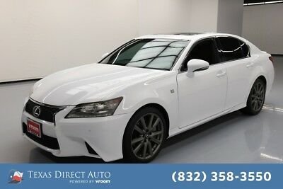 2014 Lexus GS  Texas Direct Auto 2014 Used 3.5L V6 24V Automatic RWD Sedan Moonroof Premium