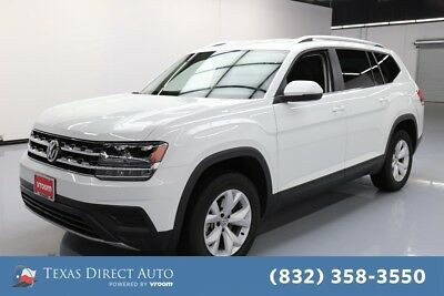 2018 Volkswagen Atlas 3.6L V6 S Texas Direct Auto 2018 3.6L V6 S Used 3.6L V6 24V Automatic FWD SUV