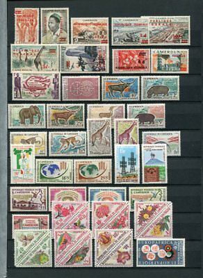 CAMEROUN MNH COLLECTION Stamps & SHEETS 140 Items