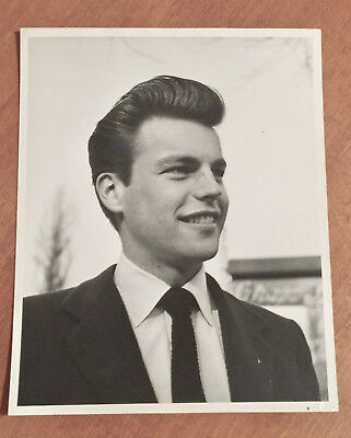 Vintage 1953 ROBERT WAGNER Original MODERN SCREEN 8x10 DBW Portrait PHOTO