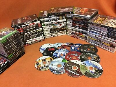 Playstation 1 2 PS2 PS1 Original XBOX 360 Nintendo Wii Gamecube Mixed Game Lot!