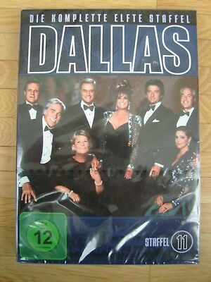 DALLAS - Staffel 11 - 2 DVDs - DVD-BOX - incl. Special - *NEU*OVP*