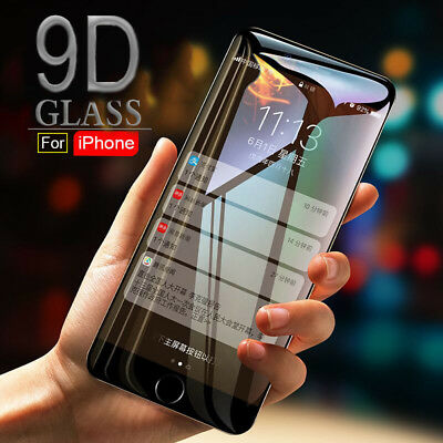 For Iphone X Xs Max Screen Protector Glass 9D Original™ High Quality Full Cover