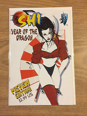 Shi Year of the Dragon Preview 2000 Crusade  VF to NM, Closer to NM