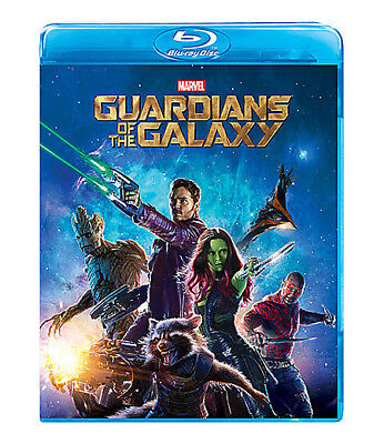 Guardians of the Galaxy Blu-ray Disc 2014 CHRIS PRATT ROCKET RACOON LIKE NEW