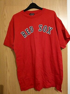 Baseball - Boston Red Sox - Cooperstown collection #9 Ted Williams T-shirt large
