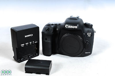 Canon EOS 7D Mark II (G) Digital SLR Camera Body{20 M/P} Shutter Actuation:3,506