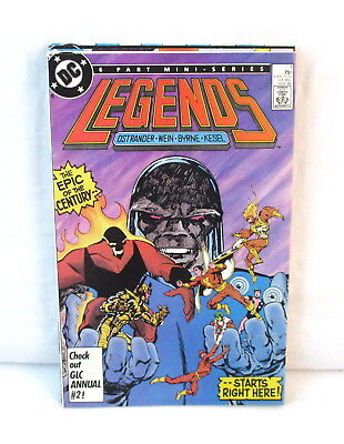 DC Legends #1 2 3 4 5 6 Complete Comic Set Lot 1st Modern SUICIDE SQUAD