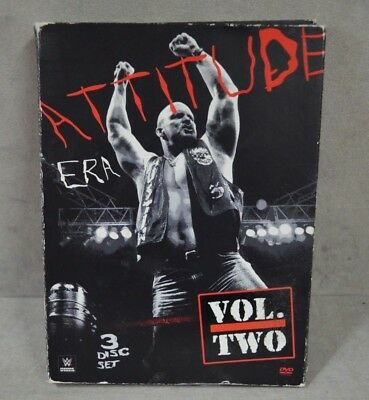 Attitude Era WWE Volume Two -  3 Disc Set DVD